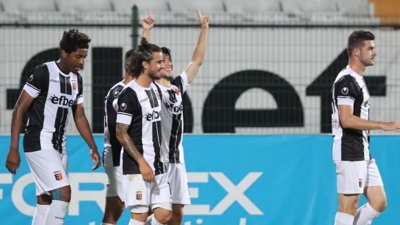 Лукас Салинас наказа грешка в защитата на ЦСКА-София и даде преднина на Локо Пд