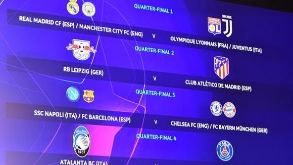 Изключителни 1/4-финали в Шампионската лига