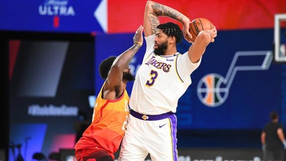 ЛА Лейкърс си осигури първото място на Запад в НБА