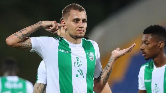 Берое нанесе втори удар на Левски след гол на Октавио