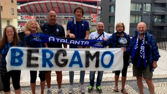 Верни фенове на Аталанта пристигнаха в Лисабон за сблъсъка с ПСЖ