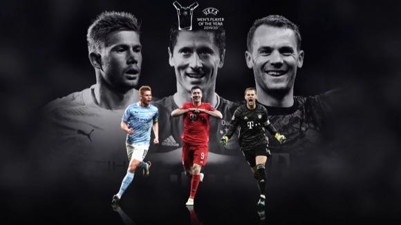Без Меси и Роналдо в челната тройка за Играч на годината