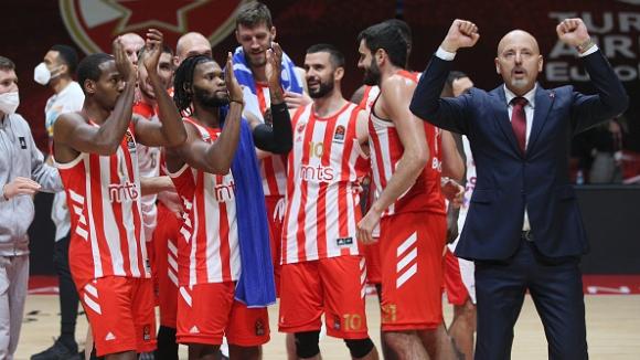 Цървена звезда победи ЦСКА (Москва) в здрав сблъсък от Евролигата