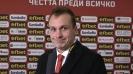 Добрин Гьонов: Трябва да подобрим играта си като гост