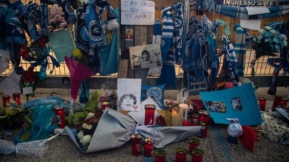 Последно сбогом с Диего Марадона
