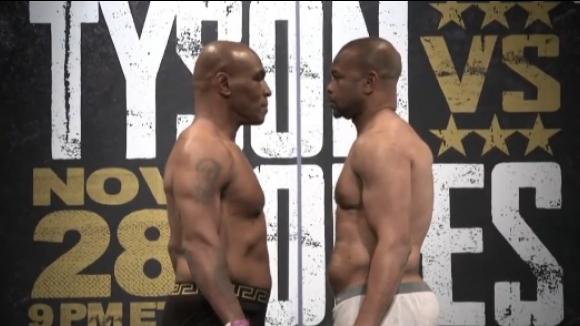 Кантарът на Тайсън измери 99,8 кг преди завръщането му на ринга