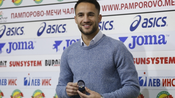 Борислав Цонев е футболист №1 на месец септември