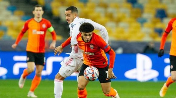 Шахтьор Донецк - Реал Мадрид 2:0