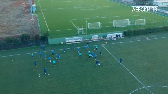 Левски с първа тренировка в Хърватия