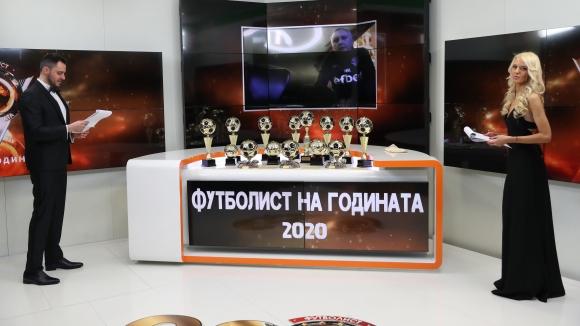 Николай Киров спечели приза за треньор номер 1 на 2020 година и скромно заяви: Изненадан съм, всеки от номинираните заслужаваше наградата