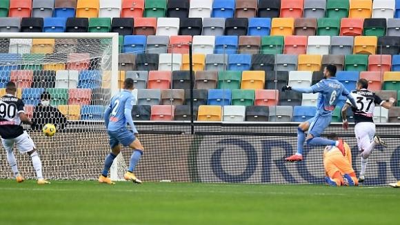 Роберто Перейра вкара най-бързия гол за Удинезе от 2014-а насам