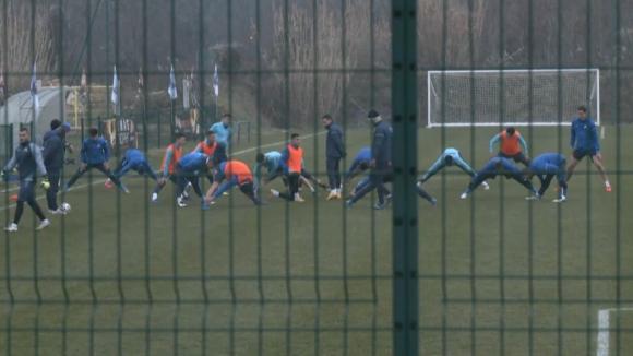 Сулака не тренира с Левски след контролата с Домжале