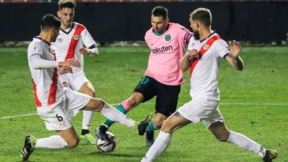 Райо Валекано - Барселона 1:2