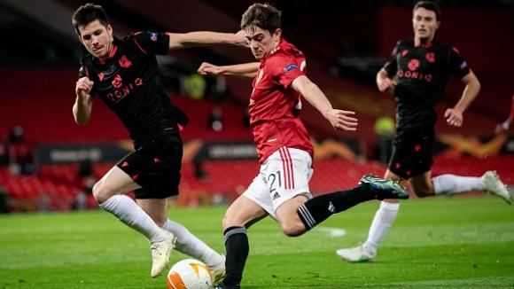 Пропусната дузпа, отменен гол и нулево реми в реванша между Ман Юнайтед и Реал Сосиедад
