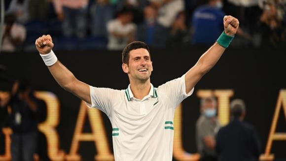 Джокович изравни рекорд на Федерер