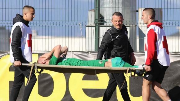 Лоша новина за националния отбор, тежка контузия на Антон Недялков