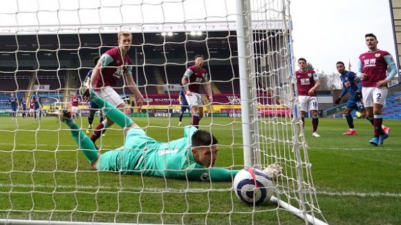 39' Бърнли - Арсенал 1:1
